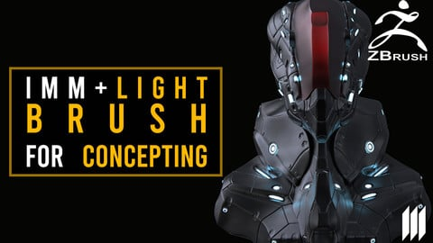 IMM Lights For Concepting in Zbrush