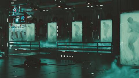 Creating A Sci-fi Environment - Bio Lab