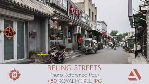 Photo Reference Pack: CHINA - Beijing Streets