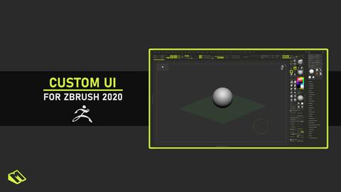 ZBrush 2020 Custom UI