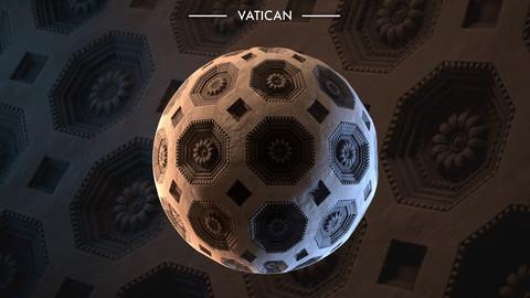 Substance Designer - Rome Vatican Museum Ceiling