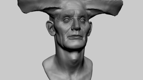 Creature Head 03