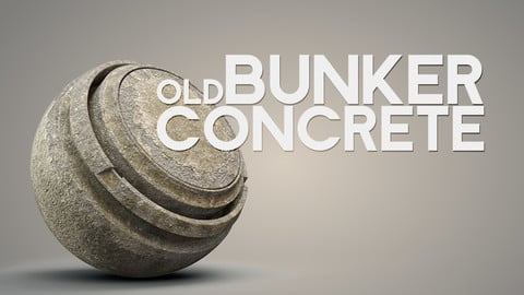 Old Bunker Concrete - Smart Material