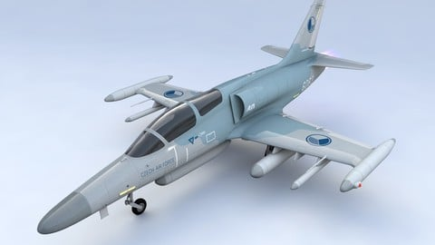 Aero L 159 Alca Aircraft 3d model
