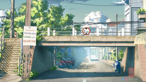 Sa Dec Hang Bridge original files
