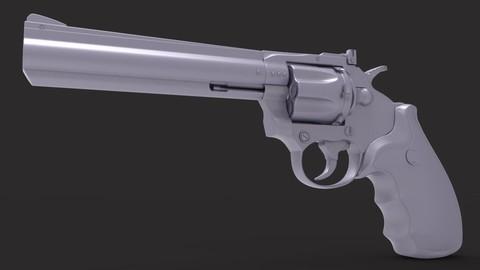 Revolver HighPoly