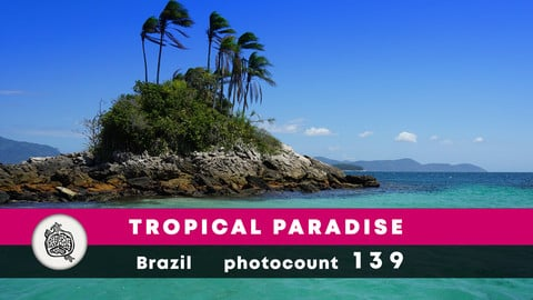 Tropical paradise photopack