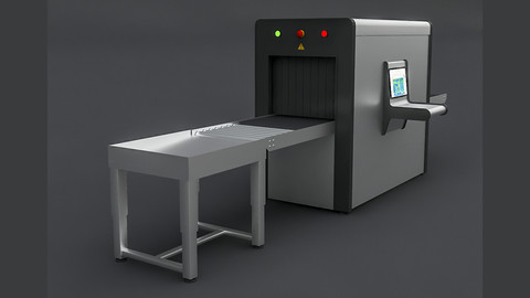 Xray 3D Model