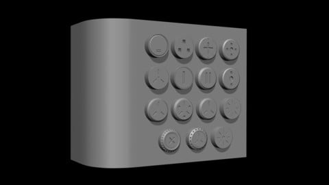 CGA Mechanical Sci-Fi Caps 01