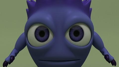 Cartoon Monster Teddy