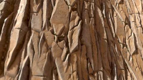 Substance Rock Chunky Desert Cliff