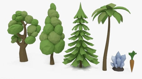 LowPoly Stuff for FREE