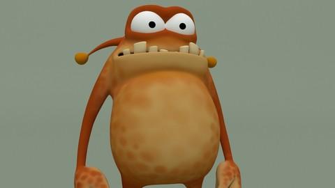 Cartoon Monster Spotty