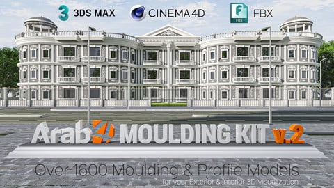 Arab4D Moulding Kit v.2