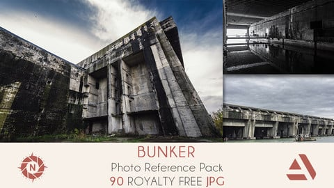 Photo Reference Pack: Bunker