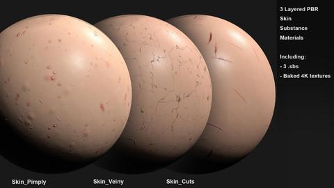 Skin Customizable Materials