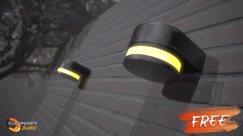 Outdoor Wall Lights (Free Pack)