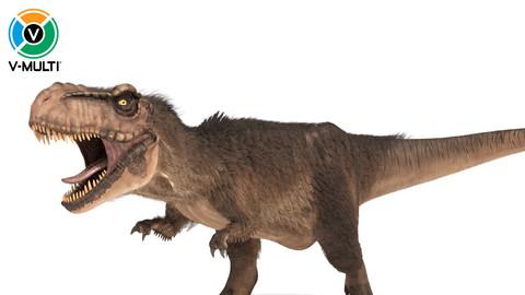 Tyrannosaurus Rex Rigged Fur