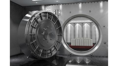 Bank Vault & Coins