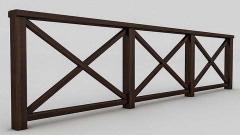 Wood Railing (3)