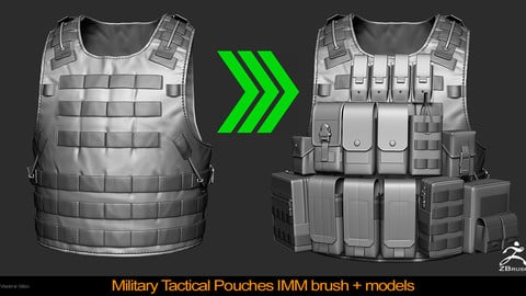 Military Tactical Pouches IMM