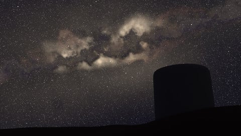 Milky Way - Procedural 360° Environment Texture