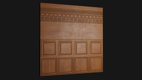 Fine Wood Trim Sheet 01