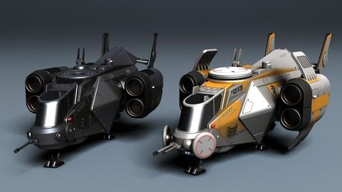 Sci-Fi Ship Bee