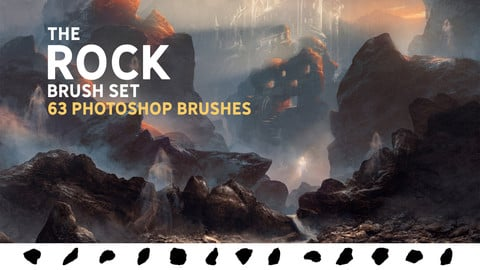 The Rock brush set