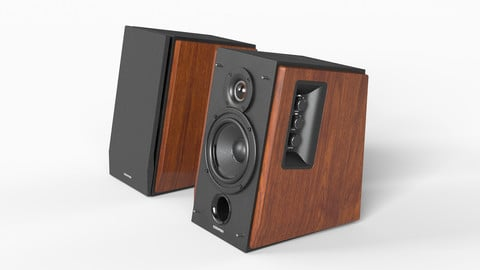 Low-poly PBR Speakers