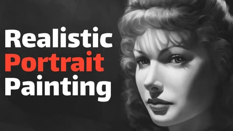 Realistic Portrait Painting in Procreate