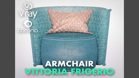 Arm chair_Vittoria Frigerio