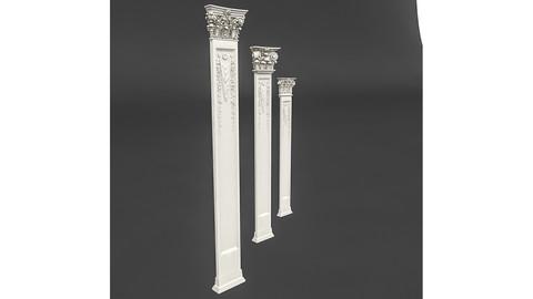 classic pattened column 02