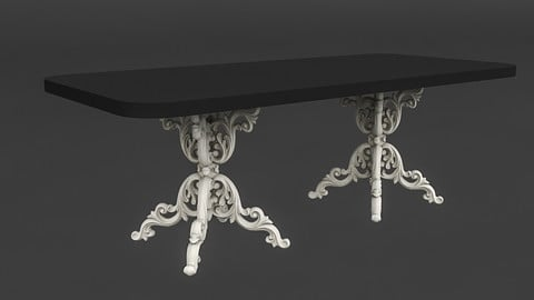 classic patterned table 01