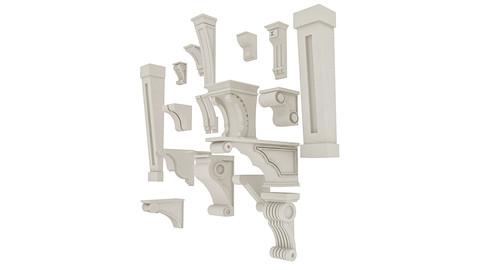 3D Molding Models