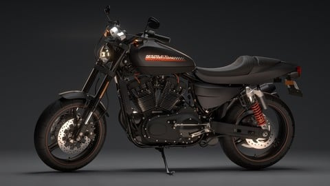 Harley Davidson XR1200x (Fully Rigged)