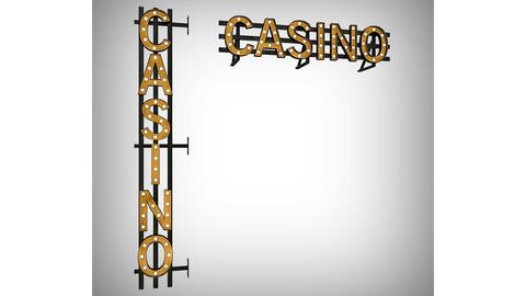 Casinor Bulb Sign