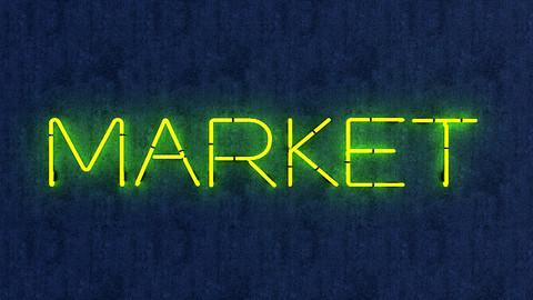 Market Neon Sign
