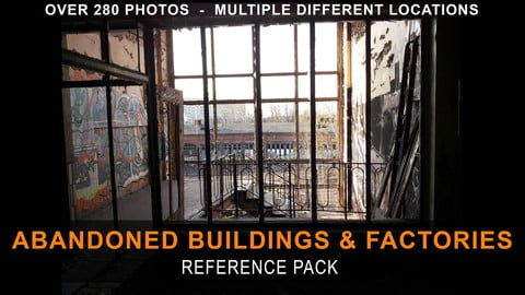 Abandoned Buildings & Factories - Reference Pack
