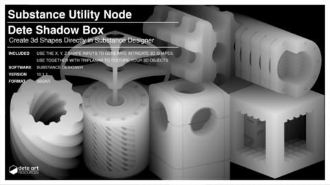 Substance Utility Node | Dete Shadow Box