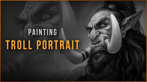 WarCraft inspired Troll Portrait