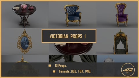 Victorian Props 1 PACK