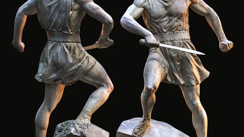 Spartacus / Sculpture / 3D model