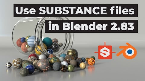 Xolotl Substance Add-on for Blender - Use Substance files (*.sbsar) inside blender 2.8+