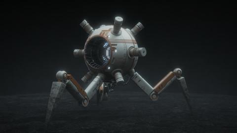 Hardsurface Robot