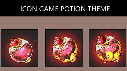 RPG Icon Potion - Pack2