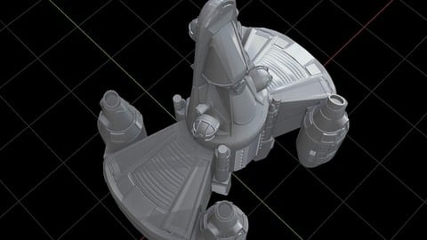 Gunstar Toy from The Last Starfighter 3D print model