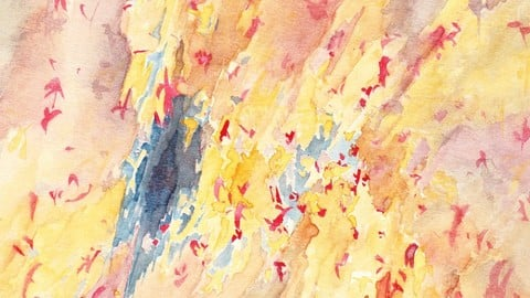 Aquarelle Abstraite 1a_LoulouFromPluton 1986