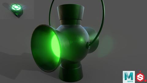 Green Lantern - Power Battery & Ring.
