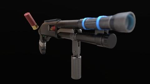 Shotgun Gun - Asset